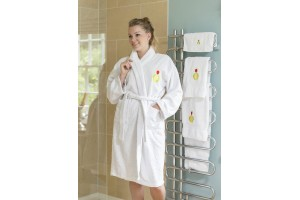 100% Cotton Pure Egyptian Bathrobe